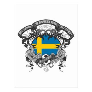 Soccer Sweden Postcard