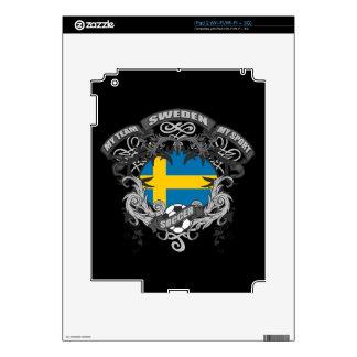 Soccer Sweden iPad 2 Decals