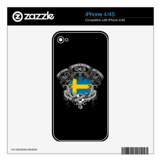Soccer Sweden Decals For The iPhone 4S