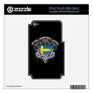 Soccer Sweden iPod Touch 4G Skin