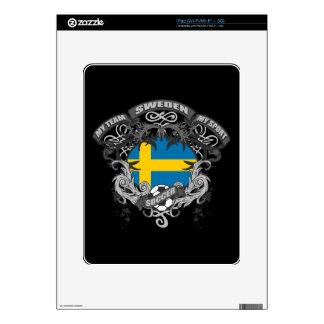 Soccer Sweden iPad Decals