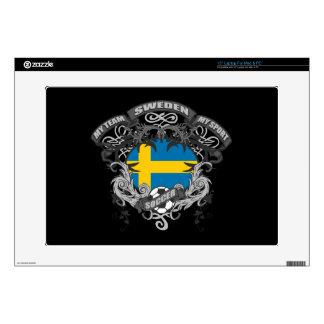 "Soccer Sweden Skin For 15"" Laptop"