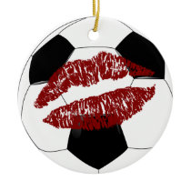Soccer sweetheart multiple messages ornament