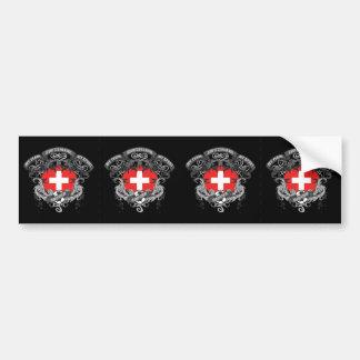 Soccer Switzerland Bumper Sticker
