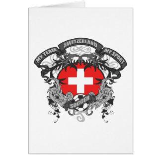 Soccer Switzerland Card