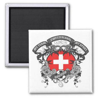 Soccer Switzerland Refrigerator Magnets