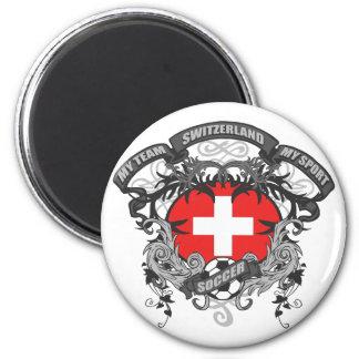 Soccer Switzerland Fridge Magnets
