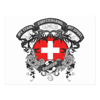Soccer Switzerland Postcard