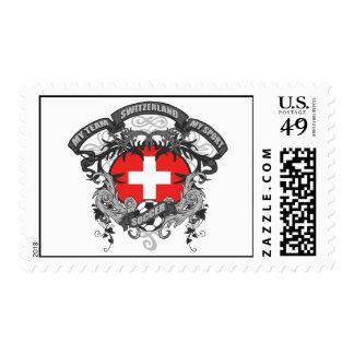 Soccer Switzerland Stamp