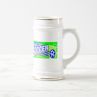Soccer T Shirts and Gifts Beer Stein