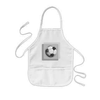 Soccer T Shirts and Gifts Kids' Apron
