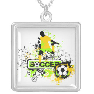 Soccer T shirts and Gifts Personalized Necklace