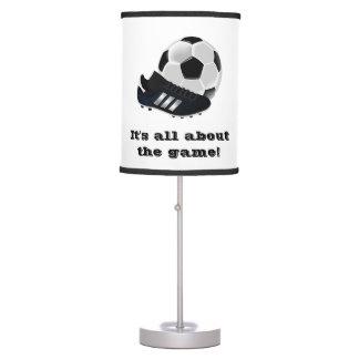 Soccer Table Lamp -- Soccer Desk Lamp