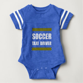 Soccer Taxi Driver Baby Bodysuit