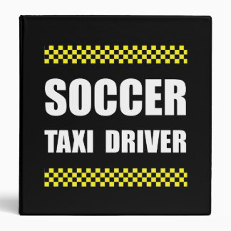 Soccer Taxi Driver Binder