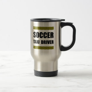 Soccer Taxi Driver Travel Mug