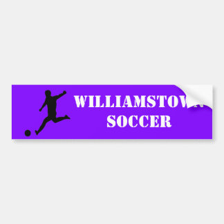 Soccer team bumper sticker