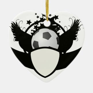 Soccer Team Commemorative Award Keepsake - Ceramic Ornament