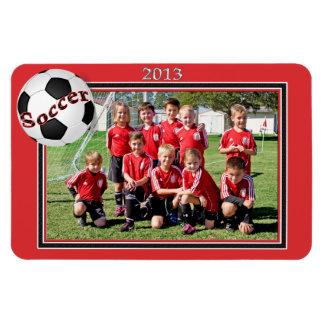 Soccer Team Connor Rectangular Photo Magnet