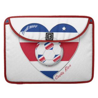 """Soccer Team """"COSTA RICA"""" FÚTBOL nacional TICO Funda Para Macbooks"""