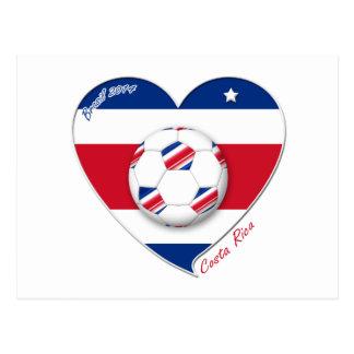 Soccer Team COSTA RICA FÚTBOL TICO nacional Tarjeta Postal