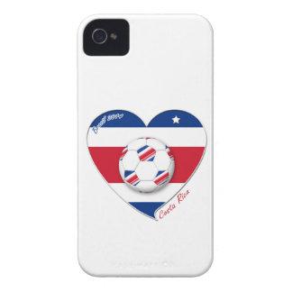"""Soccer Team """"Costa Rica"""" national SOCCER TICO iPhone 4 Case-Mate Case"""