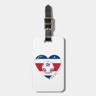 "Soccer Team ""Costa Rica"" national SOCCER TICO Tag For Luggage"