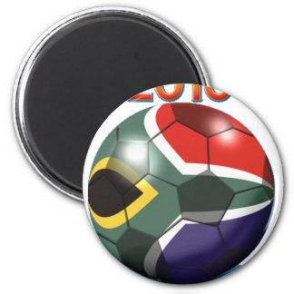 Soccer Team Gear 2 Inch Round Magnet