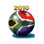 Soccer Team Gear Postcard