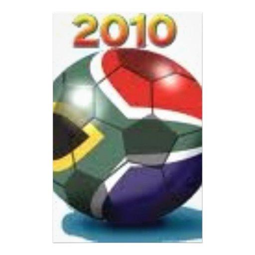 Soccer Team Gear Customized Stationery