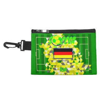 Soccer Team Germany Flag Accessories Bag
