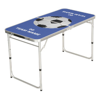 Soccer Team Name Tailgate Size Pong Table