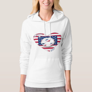 "Soccer Team ""U.S.A."" Soccer of the United States Hoodie"