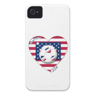 """Soccer Team """"U.S.A."""" Soccer of the United States iPhone 4 Cover"""