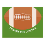 Soccer thank you card, football thank you card
