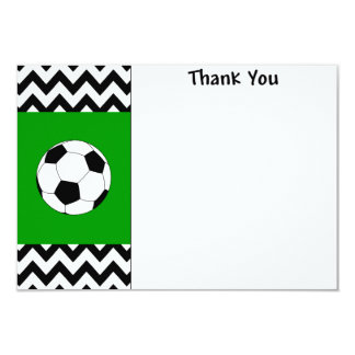 Soccer Thank you note cards