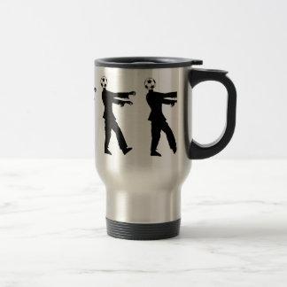 Soccer, the joy of the people! travel mug