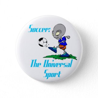 Soccer: The Universal Sport Button button