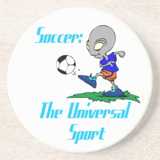 Soccer: The Universal Sport Coaster coaster