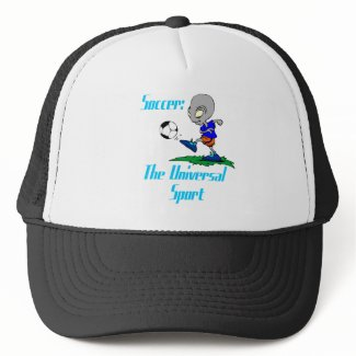 Soccer: The Universal Sport Hat hat