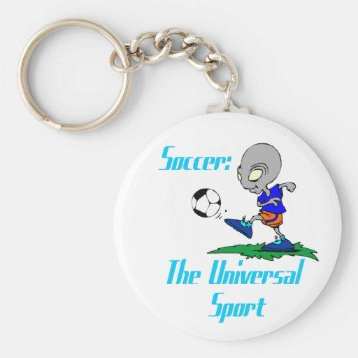 Soccer: The Universal Sport Keychain