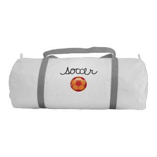 Soccer Theme Duffle Bag