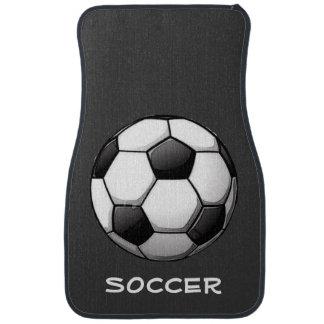Soccer-Themed Car Mats