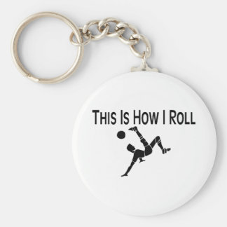 Soccer This Is How I Roll Soccer Player Keychain