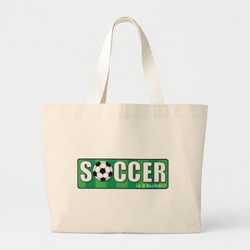 Soccer Thm Canvas Bags