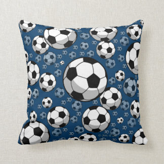 Soccer Throw Pillow