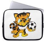 Soccer Tiger Computer Sleeves
