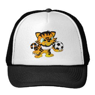 Soccer Tiger Trucker Hat