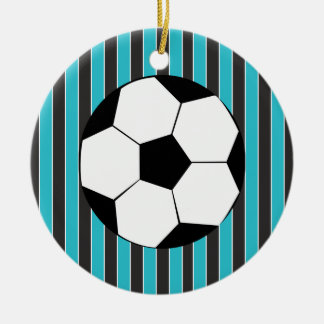 Soccer Time Christmas Tree Ornaments