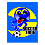 Soccer Time Post Cards